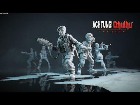 Achtung Cthulhu Tactics M4 Side Operation Wren Walkthrough |