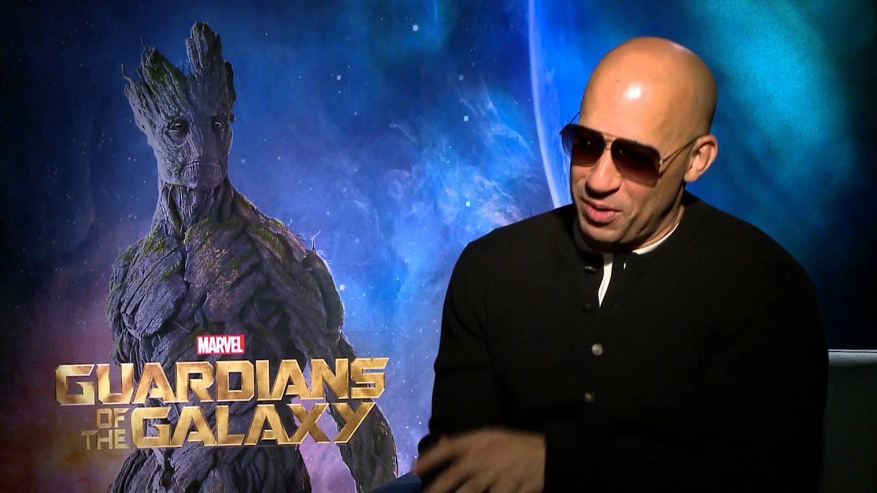 Vin diesel on the crazy process that brought 39 guardians 39 groot to life youtube - Ventilatie grot een vin ...