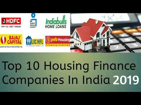 Top 10 Housing Finance Companies In India 2019
