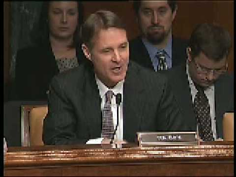 Bayh Questions Energy Secretary Steven Chu at his Confirmation Hearing