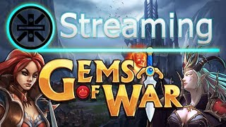 🔥 Gems of War Stream: Dark Priestess 1 Shot Teams 🔥