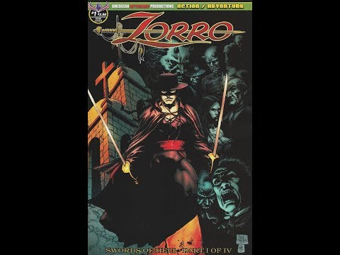 Zorro: Swords of Hell -- Issue 1 (2018, American Mythology Productions) Comic Book Review