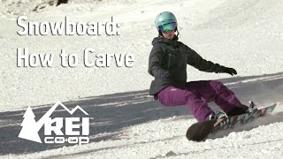 Snowboarding: How to Carve