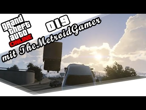 GTA ONLINE Part 19 - Flieg!! mit TheMetroidGamer (HD) / Lets Play Grand Theft Auto Online
