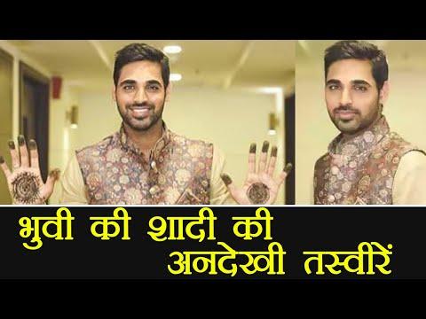 Bhuvneshwar Kumar unseen wedding pictures, watch here | वनइंडिया हिंदी