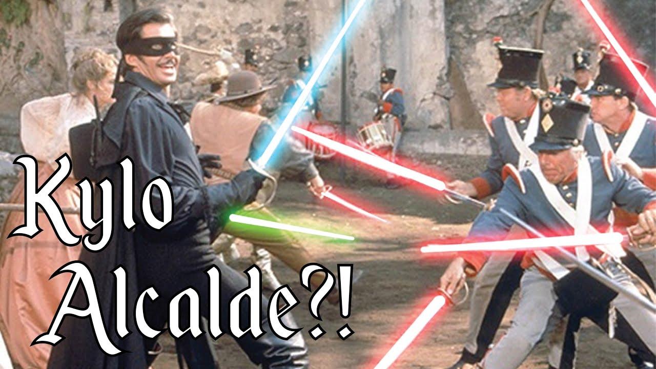 Camera Cachee Star Wars : Star wars kylo alcalde zorro gay blade youtube
