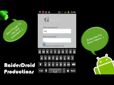 How To Lock Folder In Android