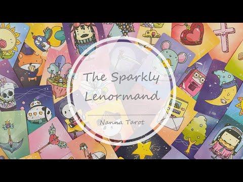 開箱  閃耀雷諾曼 • The Sparkly Lenormand // Nanna Tarot