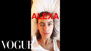 Alexa Chung Snaps Erdem