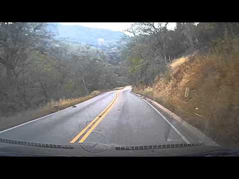 Drive to General Sherman Tree
