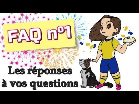 ❓ FAQ n°1 | ÂGE ? PROJETS ? ANIMAUX ? VALKYRIE PRÉFÉRÉE ? ...