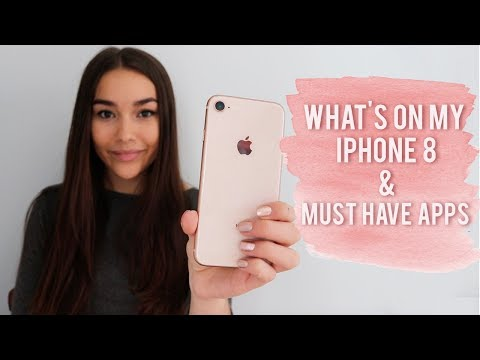 What's On My iPhone 8 & Must Have Apps