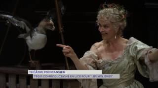 Théâtre : trois co-productions en lice pour «Les Molières»