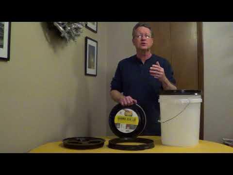 Ice Melt Storage - Calcium Chloride - Gamma Seal Lid