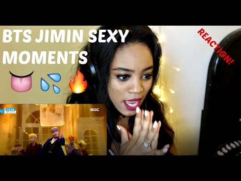 BTS JIMIN SEXY MOMENTS REACTION