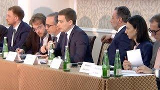 Краснодарские власти презентовали регион делегации бизнесменов из Италии