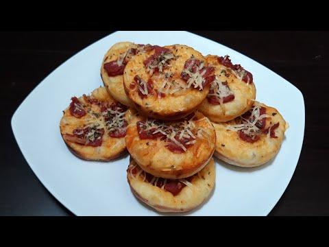Cara Mudah Membuat Pizza Mini | Resep Pizza Mini Tanpa Oven