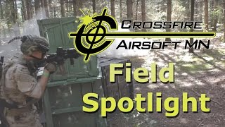 Crossfire Airsoft - Field Spotlight - Airsoft Gameplay Footage