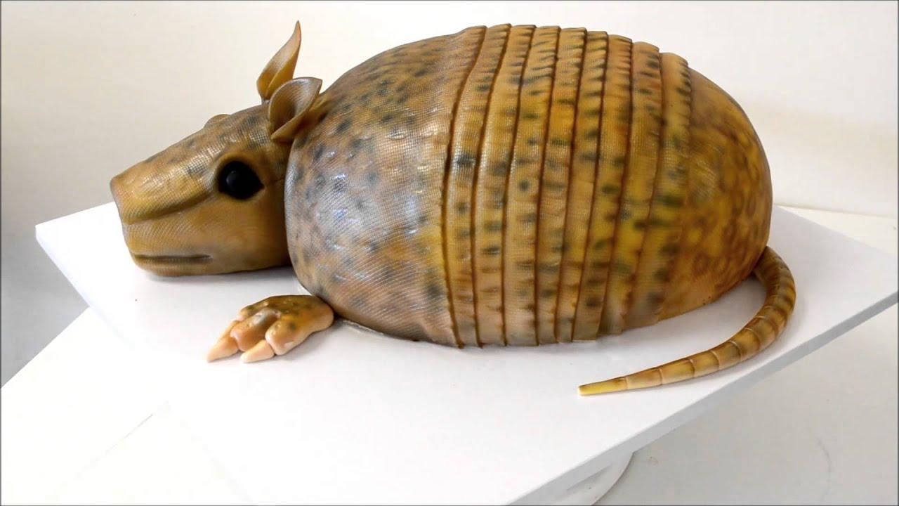 Realistic Cake Images : Armadillo shape cake - Realistic Cake of Animal - YouTube