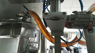 stainless steel 200kg honey tank processing machine weigh filling Miel ligne remplissage fabrication