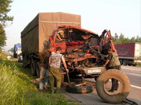 Аварии грузовиков(фото)