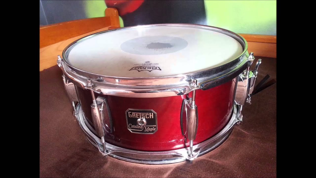 gretsch catalina maple snare 14x5 5 youtube. Black Bedroom Furniture Sets. Home Design Ideas