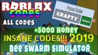TODOS OS 20 * INSANE * CÓDIGOS EM BEE SWARM SIMULATOR ROBLOX | Bee Swarm Simulator códigos