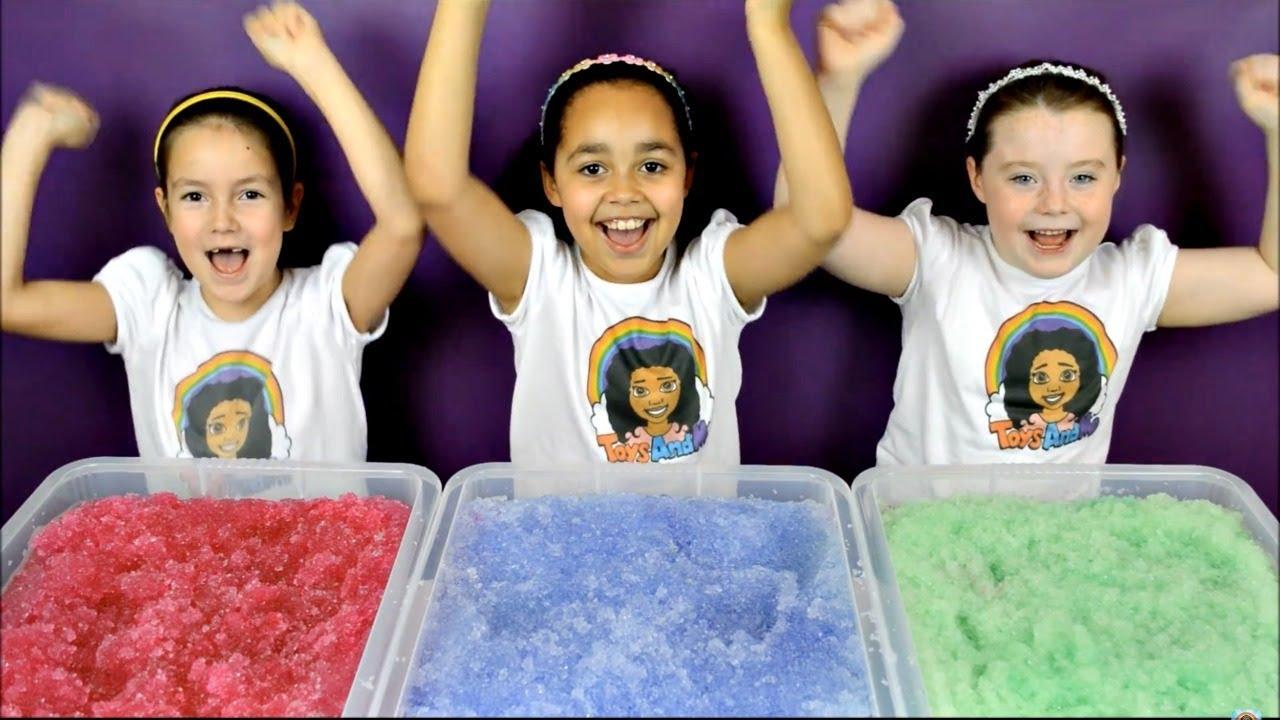 Super Slushy Gelli Baff Toy Challenge Doovi