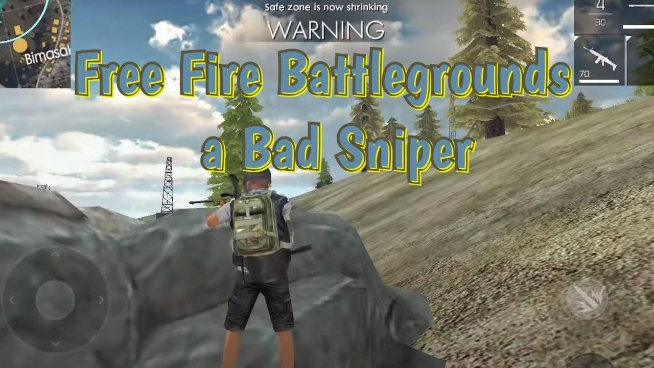 Free Fire Battlegrounds A Bad Sniper