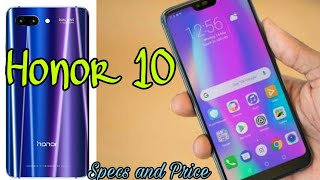 Honor 10 Full Specification and Price Video | Honor 10 Full Specification and Price Urdu Hindi video