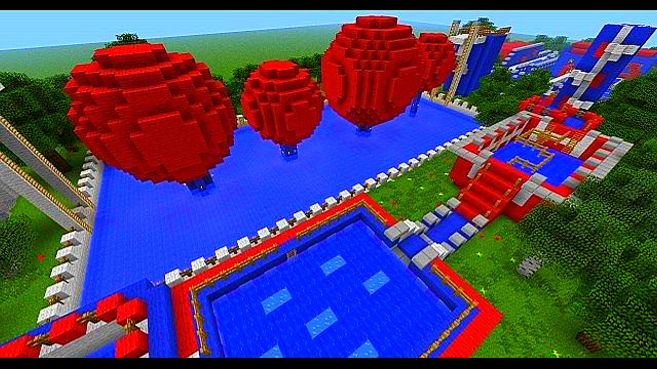 how to build a parkour course in minecraft