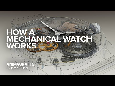 How A Mechanical Watch Works