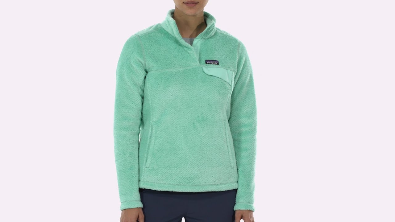 f50d3b41963 Patagonia Women s Re-Tool Snap-T® Fleece Pullover - YouTube