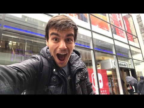 Checking out the Nintendo Store in New York City LIVE!