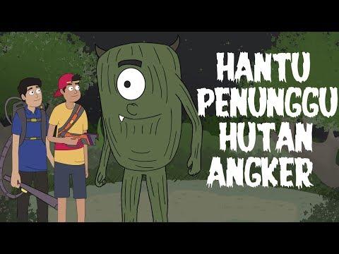 Hantu Penunggu Hutan Angker - Kartun Hantu Lucu - Kartun Horor - Surgatoon