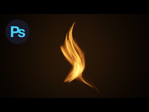 Learn How to Create a Flame Effect in Adobe Photoshop CC | Dansky thumbnail