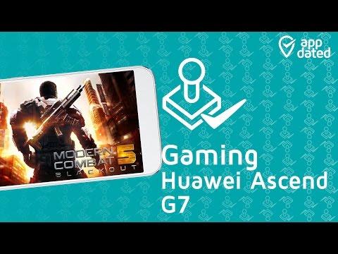 HUAWEI Ascend G7 Gaming & Spiele Test (deutsch)