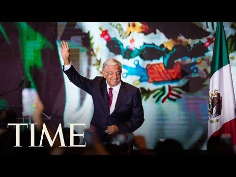 Leftist Andres Manuel Lopez Obrador Claims Historic Win In Mexico Elections | TIME
