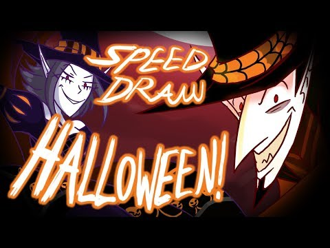 Speed Draw- Happy Halloween! from Duke & Missi