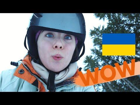 BEST WINTER VACATION IN UKRAINE (also The Most Expensive!) | Bukovel Ski Resort