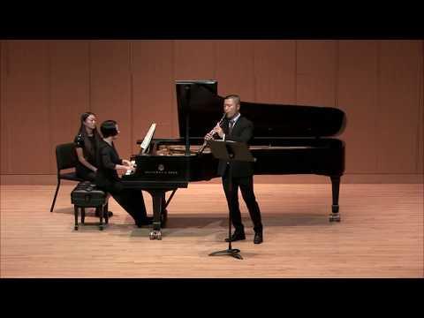 Mingzhe Wang, clarinet  |  Sonata in E-flat major, Op. 12, No. 3  |  11.1.2017