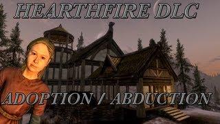 Skyrim DLC: Hearthfire - Adoption/Abduction