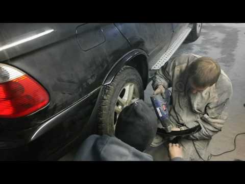 Кузовной ремонт 13 BMW X5 E53 Рестайлинг Обвес