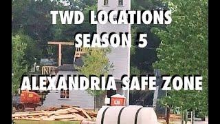 The Walking Dead Locations | Season 5 Alexandria Safe Zone Set (ASZ)