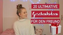 DIE 20 BESTEN GESCHENKIDEEN FÜR DEN FREUND 🎁💞