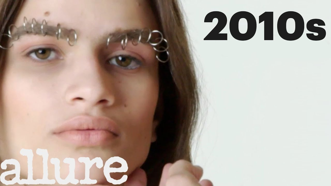 100 Years Of Brows Allure Youtube