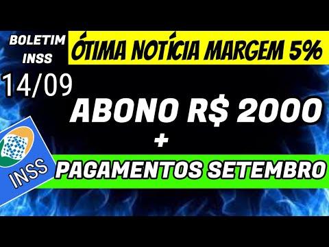 ✔️ÓTIMA NOTÍCIA: LIBERAÇÃO DA MARGEM + ABONO R$ 2000 + AUMENTO DE SALÁRIO (14/09). CONFIRA JÁ (INSS)