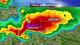 2011 04 16 wral tv live tornado coverage 430pm to 500pm