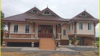 Repeat youtube video แบบบ้านชั้นเดียวยกพื้น BP03 สร้าง จ.กาญจนบุรี