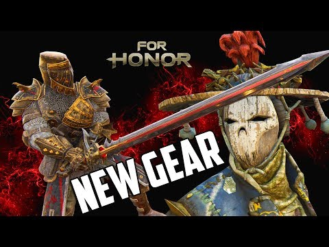 For Honor: S4 NEW GEAR - ALL WARDEN WEAPONS/ARMOUR